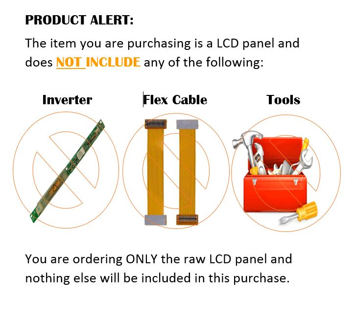 "New 17/"" CCFL WXGA LCD LED Screen replacement for Dell INSPIRON 1720"