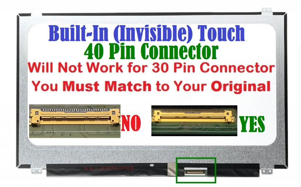 DELL INSPIRON 15-3521 LTN156AT40 LAPTOP LED LCD Screen P28F TOUCH 15.6 WXGA HD